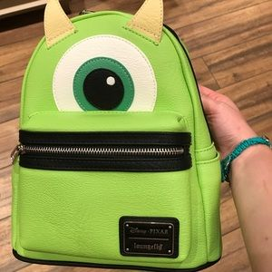 Disney monsters inc Mike mini backpack loungefly
